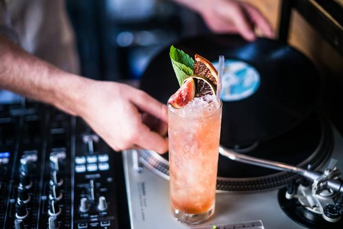 Music to my Drink by mattdunne - Shallow Depth Photo Contest