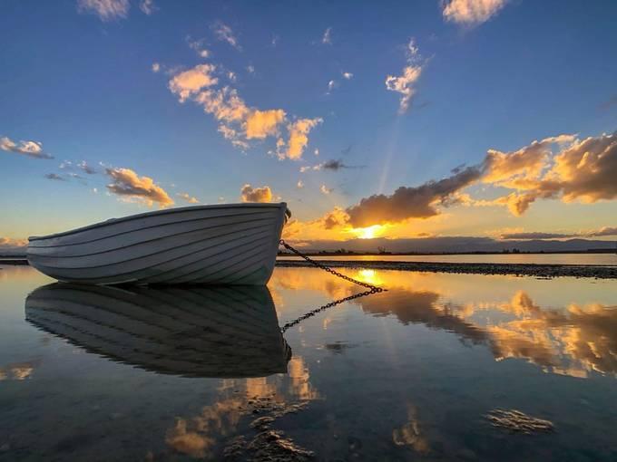 Autumn sunset by amberwinter - My Best New Shot Photo Contest