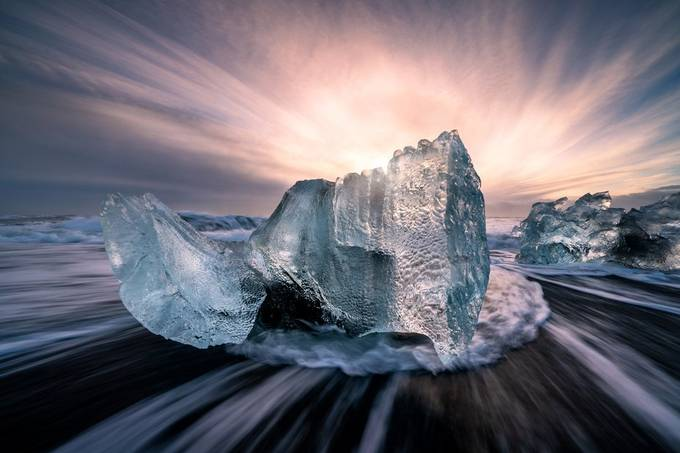 Chunk of Ice by madspeteriversen - My Best New Shot Photo Contest
