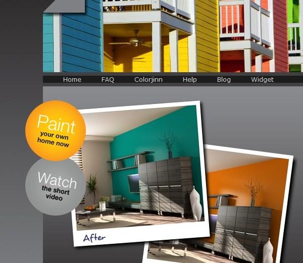 Βάψτε το σπίτι σας στον υπολογιστή