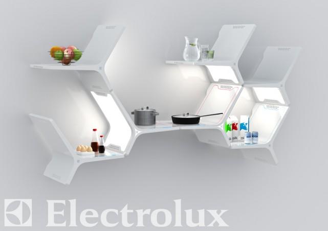 Το μέλλον των οικιακών συσκευών: Elements Modular kitchen από την Electolux