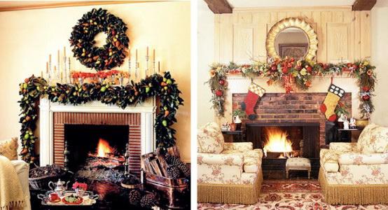 20 Χριστουγεννιάτικες διακοσμήσεις για τζάκι