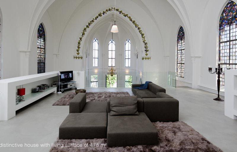Ένας ναός μετατρέπεται σε κατοικία
