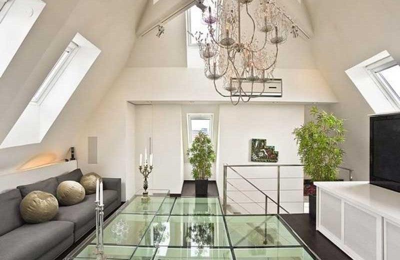 Ένα σύγχρονο loft διαμέρισμα