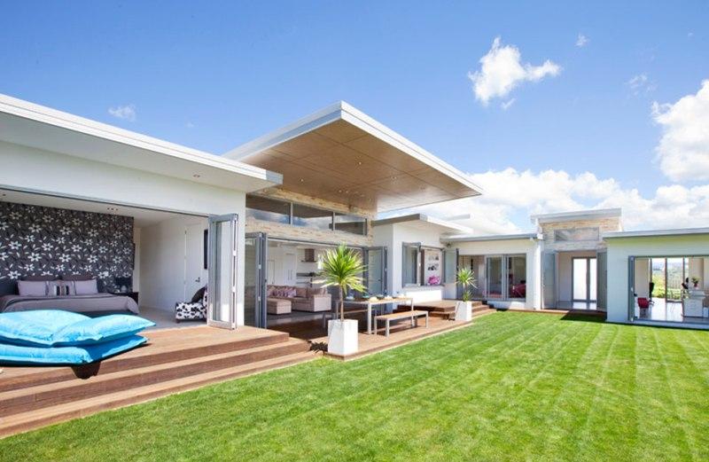 Φύση και τεχνολογία σε μια σύγχρονη κατοικία στη Νέα Ζηλανδία