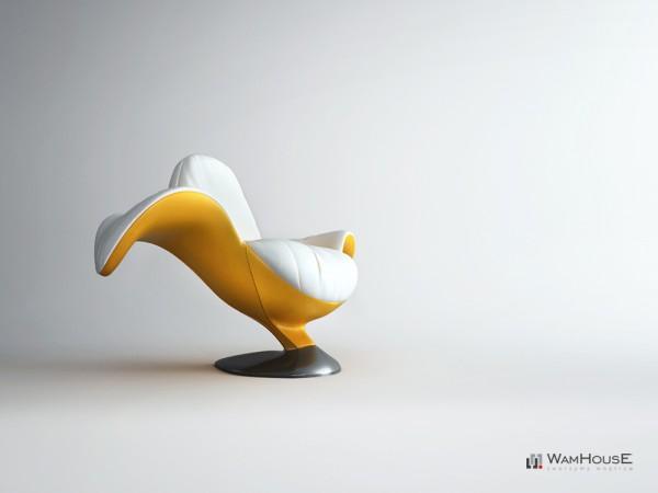 Η μπανάνα «τρώγεται» ακόμη και σαν πολυθρόνα