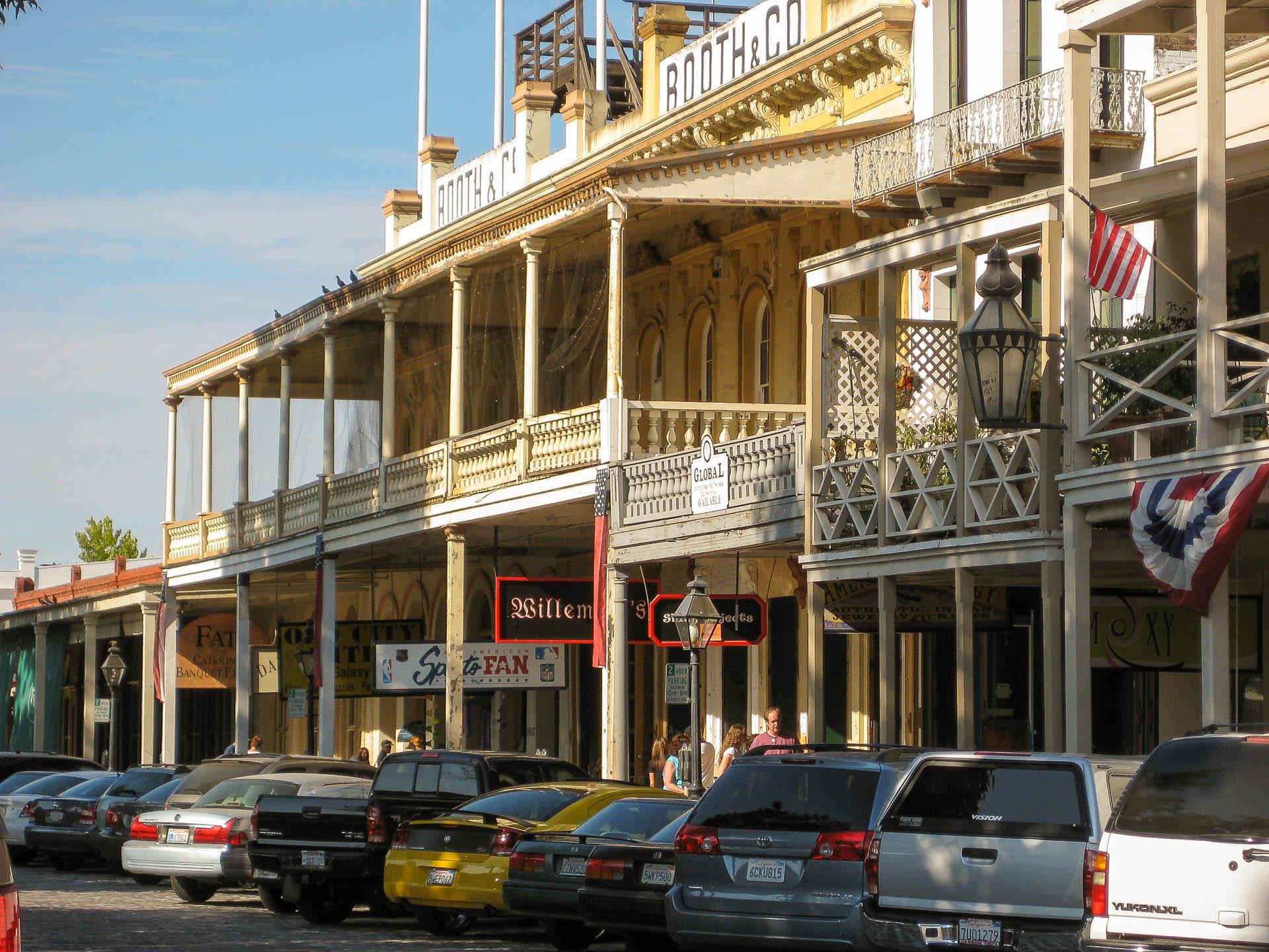 Old Sacramento Town