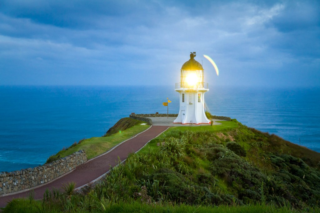 Cape Reinga in the morning