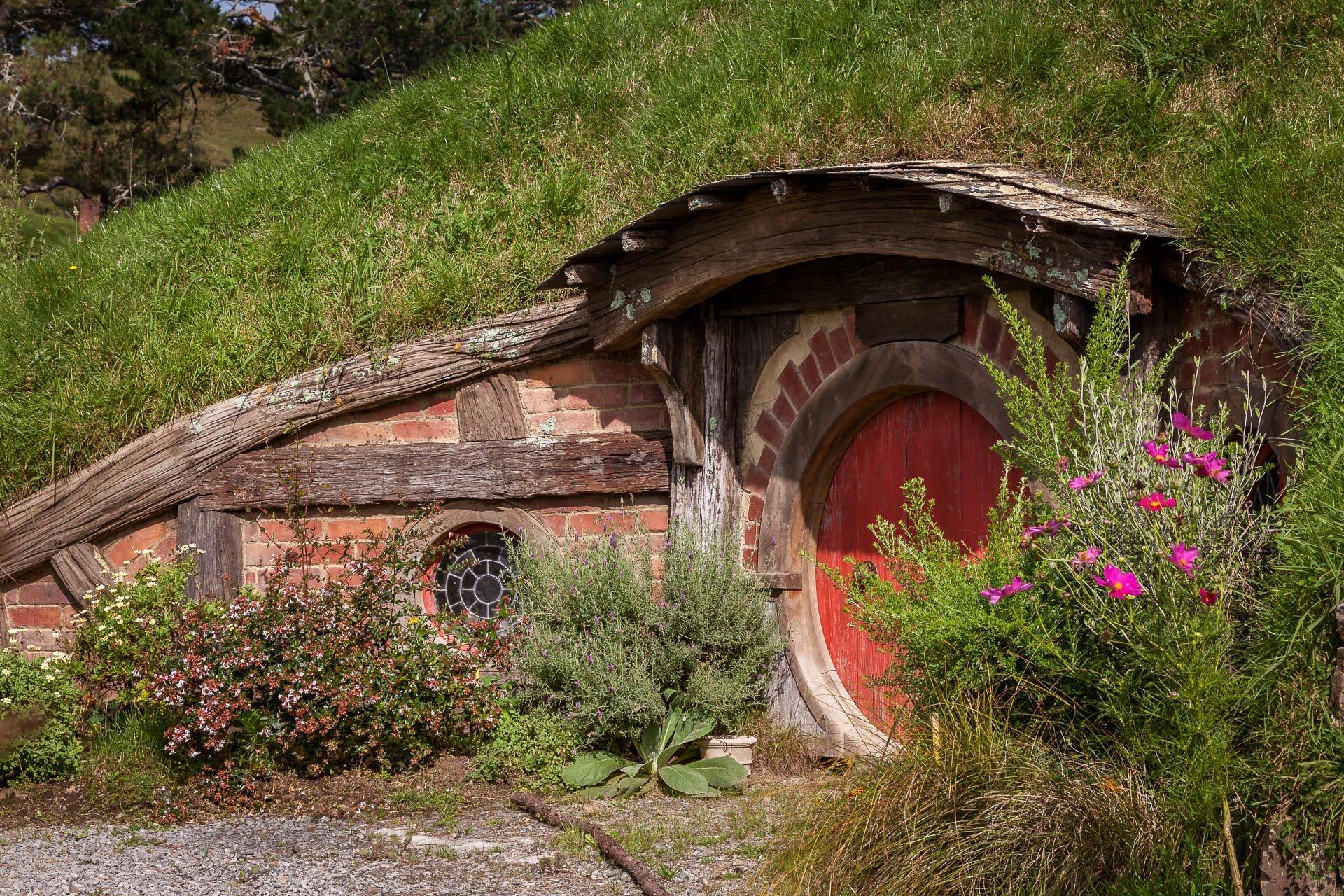 Hobbiton Filmset