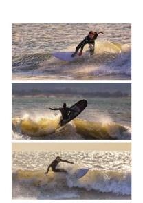 Stuart Bennett - Surfs up (PDI Panel - Bronze)