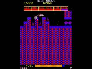 Scramble screen shot - my fave 80s arcade game, by far