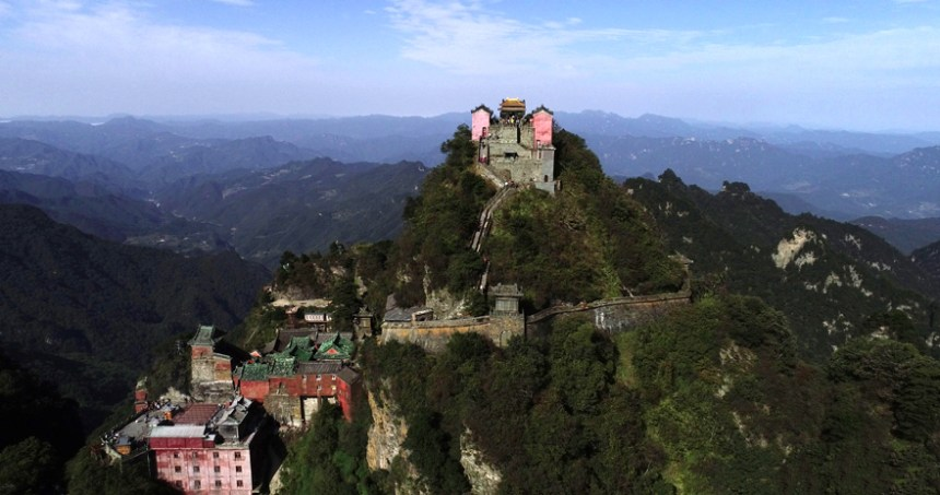 Taoist temple in Mt. Wudang