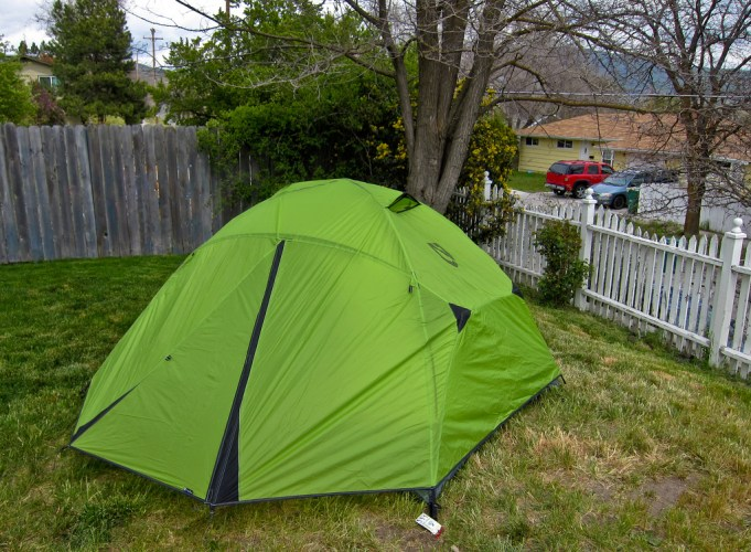 AirBnB listings range from houses to camping in the backyard