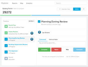 Proccess with ViewPoint Cloud | ePermitting