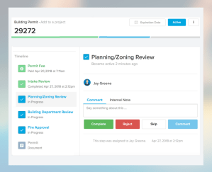 Process with ViewPoint Cloud | Online Permitting