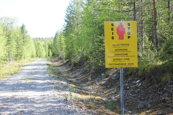 Finnish border (via NH53).