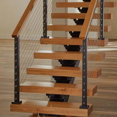 How Much Do Floating Stairs Cost Viewrail | Glass Stair Treads Cost | Floating | Steel | Handrail | Hardwood | Wood