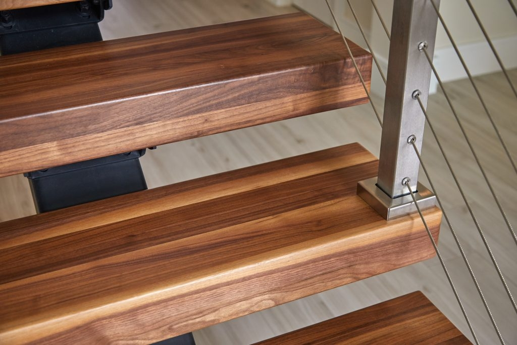 What Are Thick Stair Treads Viewrail   African Mahogany Stair Treads   Dolphin   Stair Parts   Hardwood Lumber   Sapele   Floor