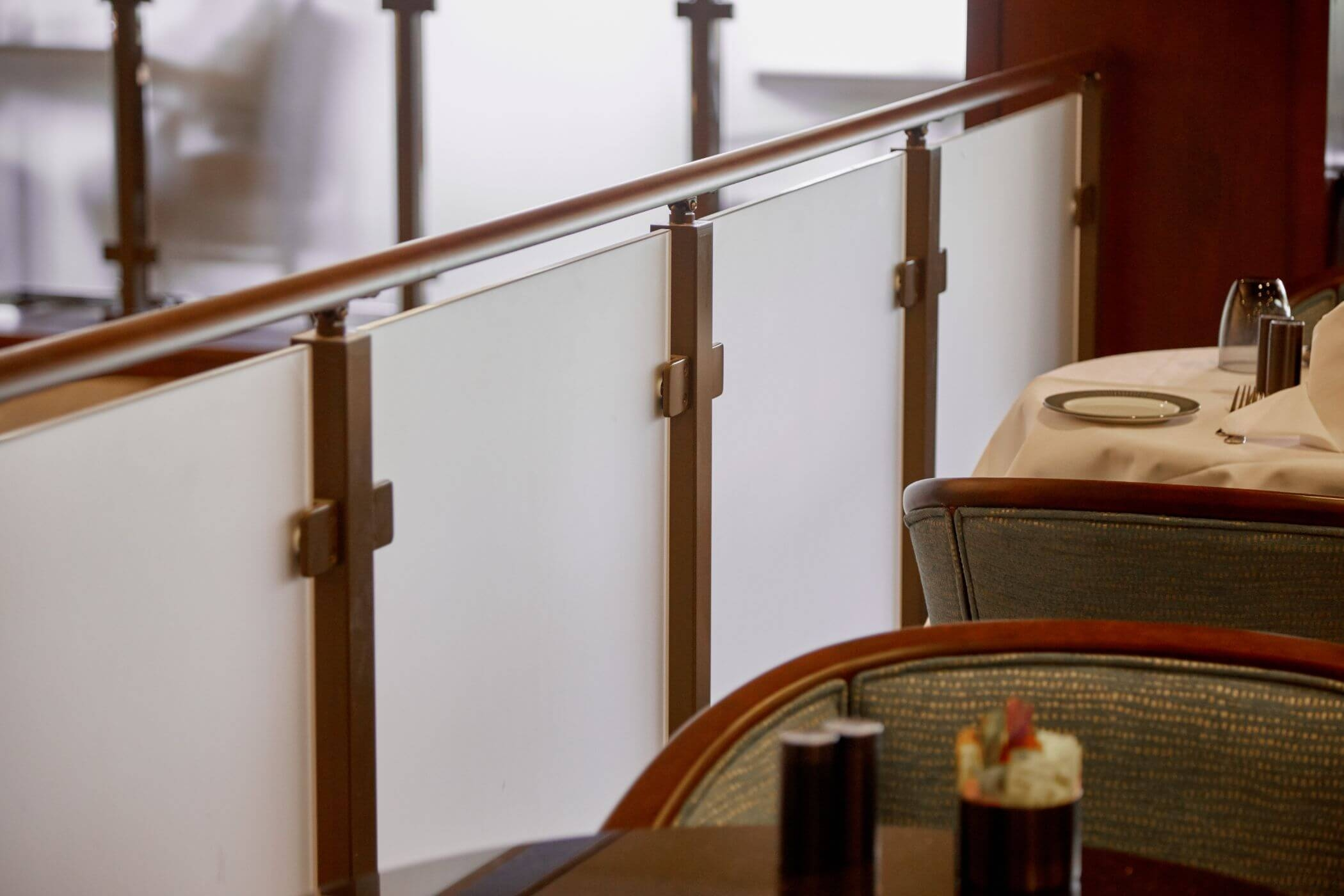Frosted Glass Railing Viewrail | Frosted Glass Stair Panels | Smoked | Toughened | Deck | Balcony | Contemporary