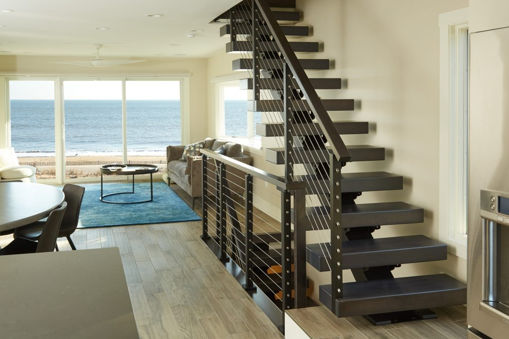 Types Of Stairs Modern Straight L Shaped U Shaped More | Continuous Handrail Winder Stair | Recessed | 30 Inch | Basement | Gooseneck | 90 Degree