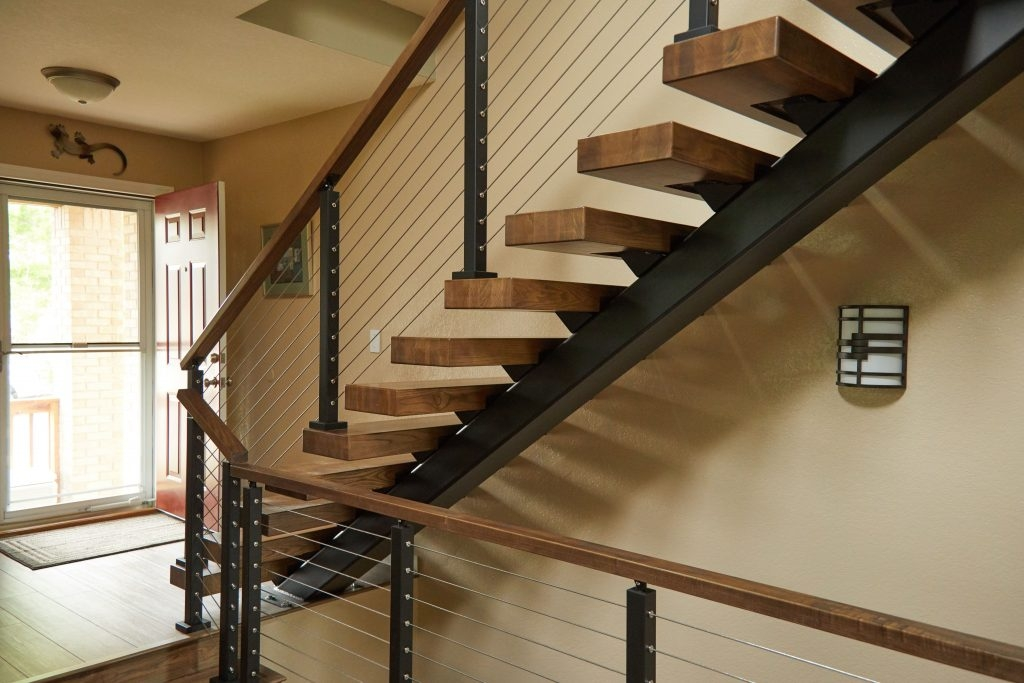 How Much Do Floating Stairs Cost Viewrail | Ready Made Wooden Steps | Stair Treads | Staircase | Deck Stairs | Composite | Stair Stringer