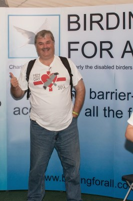 Mark Avery (Author) supporting Birding For All