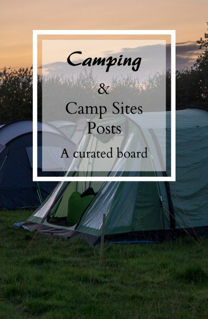 Camping and Campsite Posts