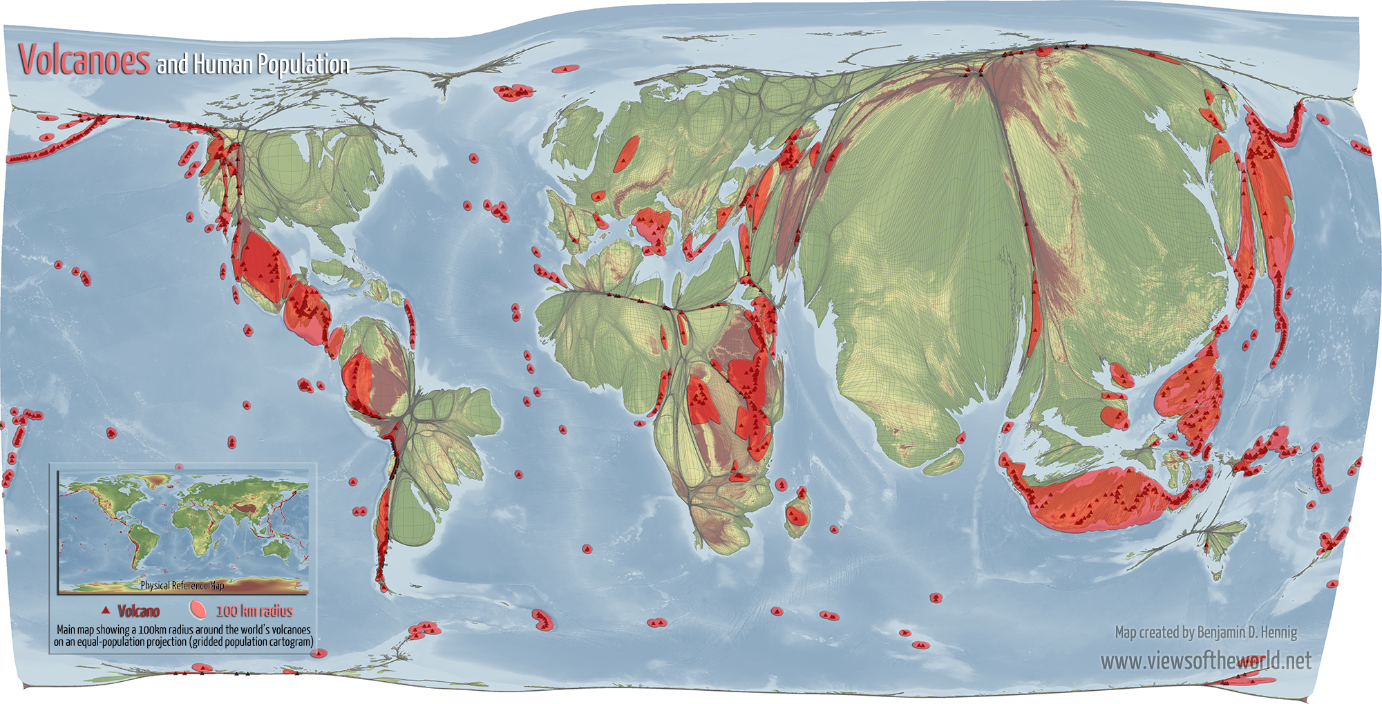 Volcanoes And Human Population