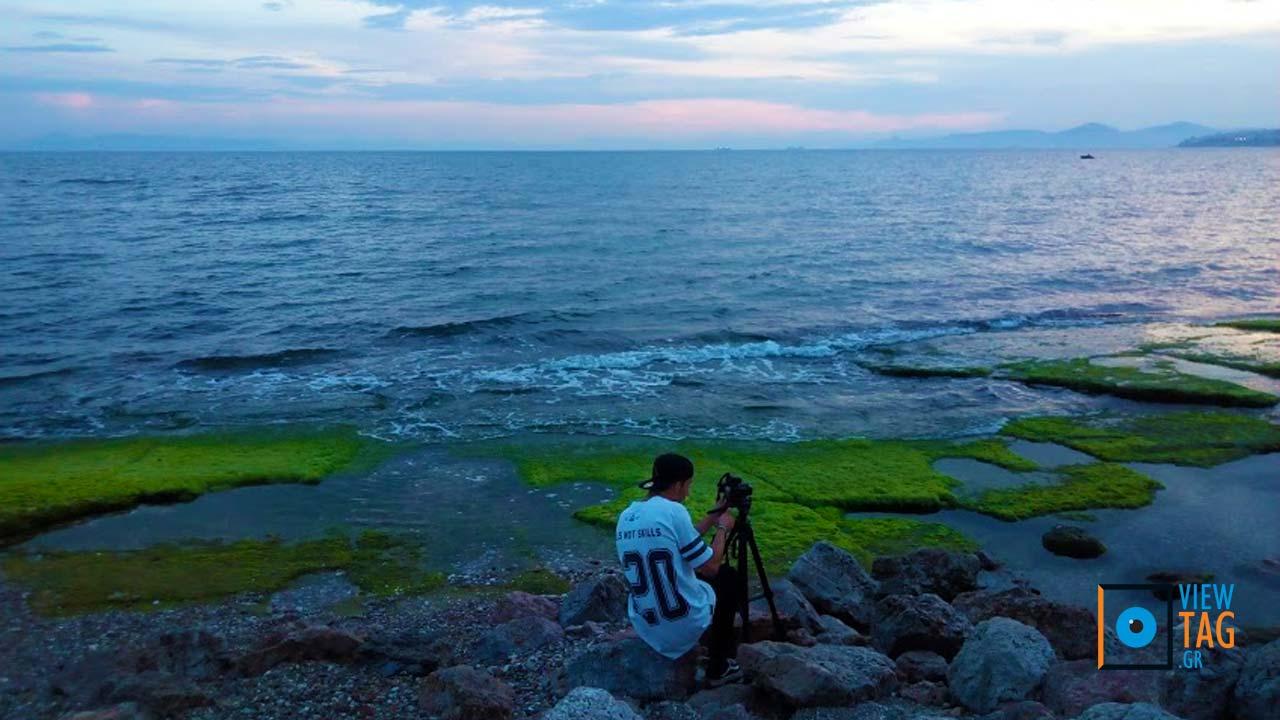 Ο νεαρός φωτογράφος