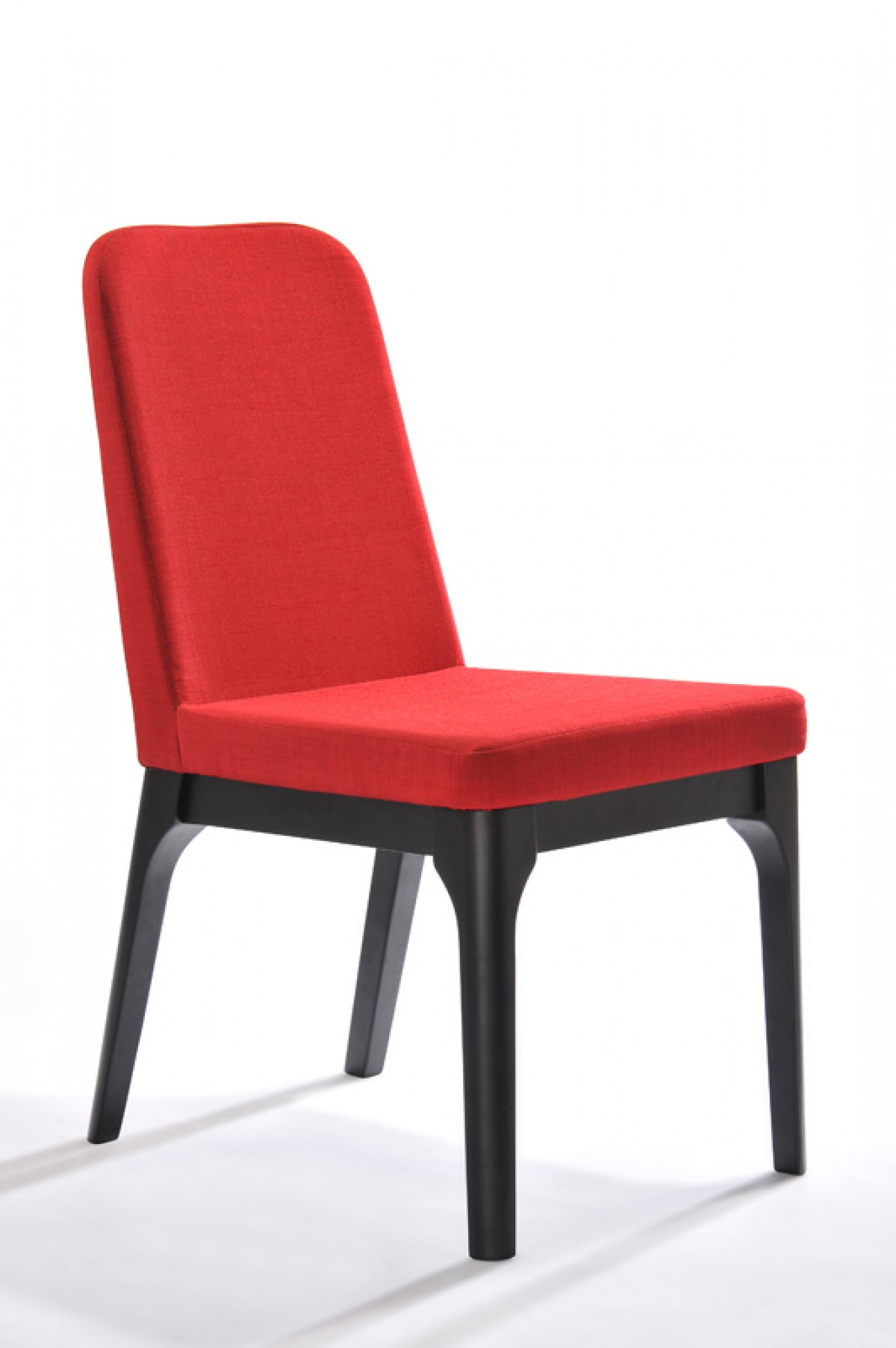 Modrest Comet Modern Red Fabric Dining Chair Set Of 2 Dining Chairs Dining
