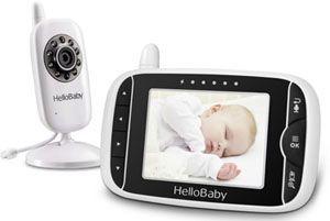 Vigilabebes con camara HelloBaby HB32
