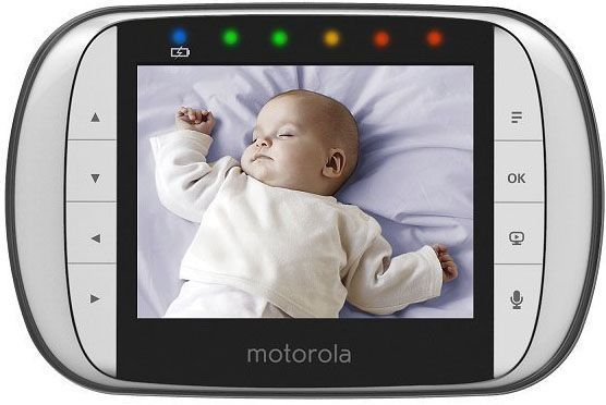 Motorola MBP36SC, el vigilabebés con cámara más vendido