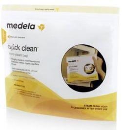 Quick clean medela bolsa para microondas