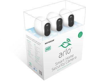 sistema inteligente de camaras ip netgear arlo vms3330-100eus