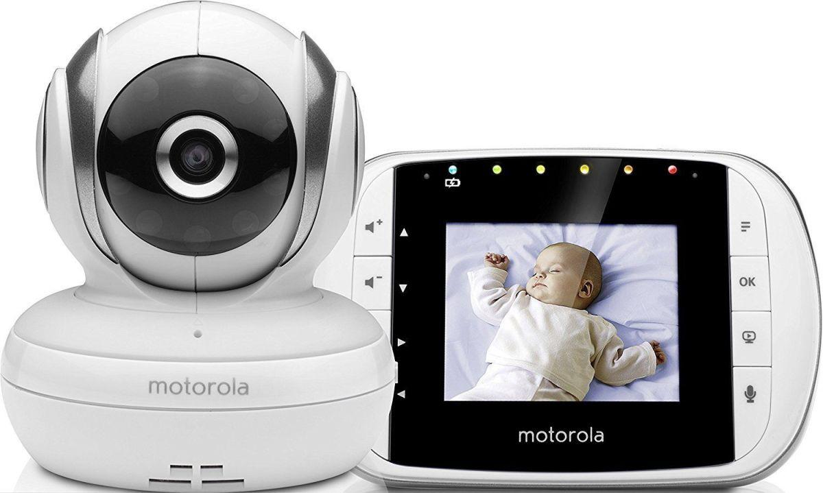 Vigilabebés con cámara digital Motorola MBP33s: análisis detallado