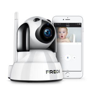 fredi cámara ip wifi vigilabebés