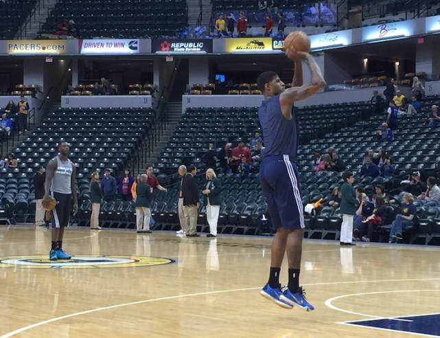 Paul George is eager to get the 2015-16 season started...