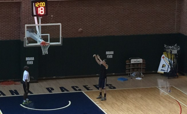 Whittington remained in Indy for much of last summer to work out.