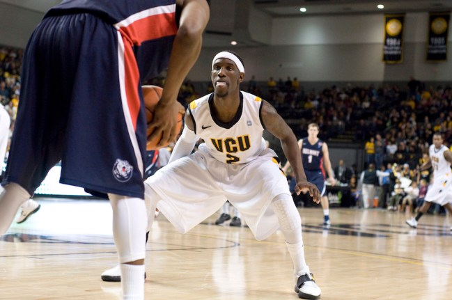 The Pacers are bringing point guard Briante Weber, who is coming off a knee injury, in for a look. [Photo: VCU Athletics]