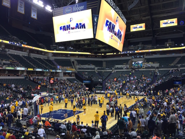 Get a close look at the Pacers on Oct. 23.