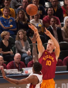 Chase Budinger played 49 games with the Pacers. [Photo: Frank McGrath/PS&E]