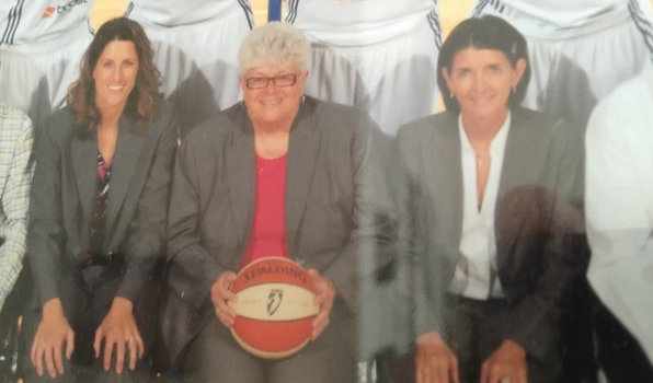 Stephanie White, Lin Dunn, and Mickie DeMoss coached the Fever to a 2012 WNBA Championship.