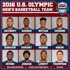2016 Olympic Team.