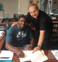 Mahinmi officially signed a four-year deal with the Wizards on July 7.