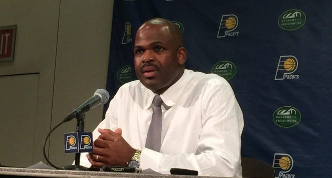 Nate McMillan and the Pacers open the 2016-17 season at home, Oct. 26 against Dallas.