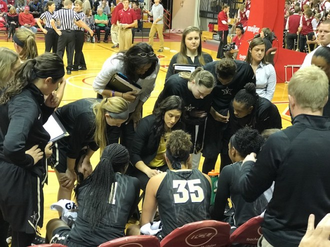 Stephanie White coached her first game in her home state as a college head coach on Sunday.