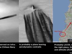 Segundo levantamento, está explicado o Caso Armada, que envolveu a filmagem infravermelha de um OVNI no Chile, em 11 de novembro 2014. Cortesia: Metabunk