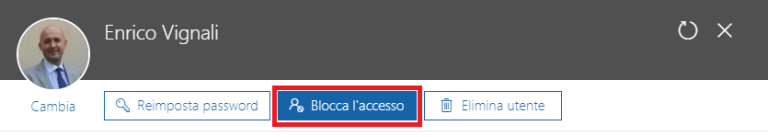 Office 365, blocco accesso agli utenti