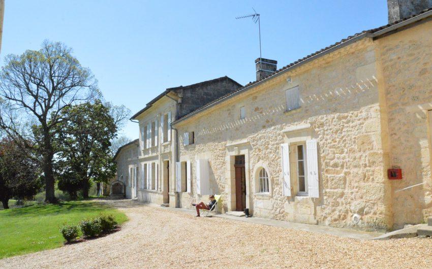 propriete viticole fronsac vente