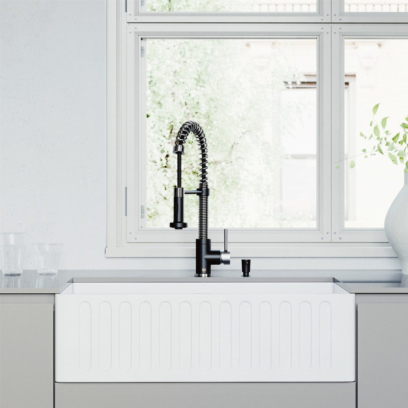 bowl farmhouse kitchen sink